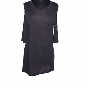 Umgee Cold Shoulder Tunic/Dress Size M